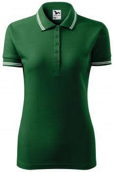 Tricou polo femei Malfini Urban, verde sticla