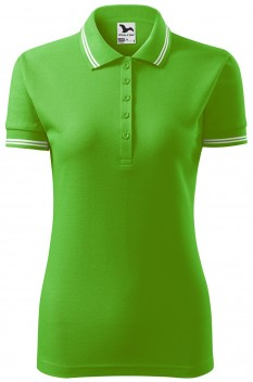 Tricou polo femei Malfini Urban, verde mar