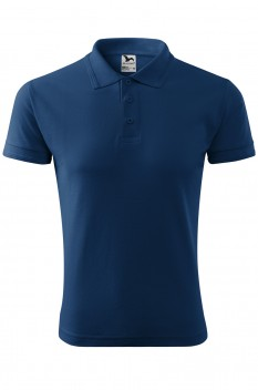 Tricou polo barbati Malfini Pique, midnight blue