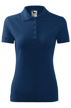 Tricou polo femei Malfini Pique, midnight blue