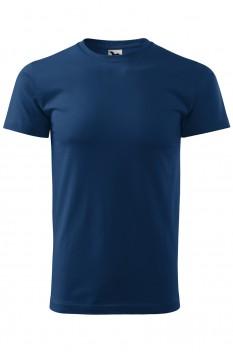 Tricou barbati, bumbac 100%, Malfini Basic, midnight blue