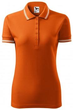 Tricou polo femei Malfini Urban, portocaliu