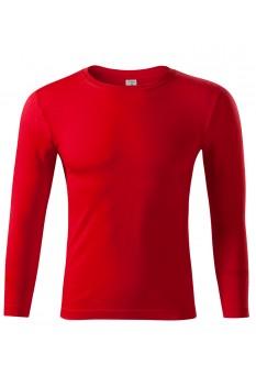 Bluza unisex Piccolio Progress LS, rosu