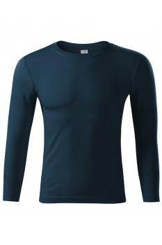 Bluza unisex Piccolio Progress LS, albastru marin