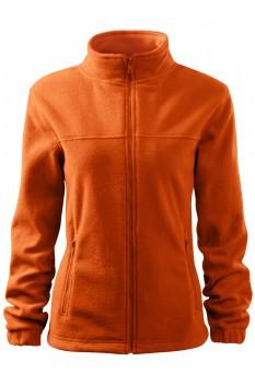 Jacheta fleece femei, Rimeck Jacket, portocaliu