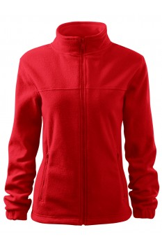 Jacheta fleece femei, Rimeck Jacket, rosu