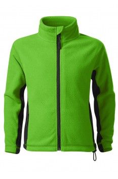 Jacheta fleece copii, Malfini Frosty, verde mar