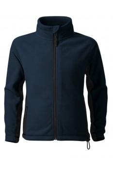 Jacheta fleece copii, Malfini Frosty, albastru marin