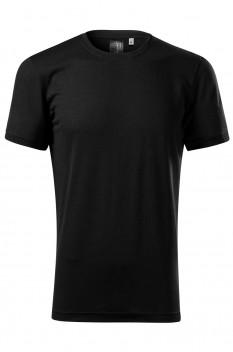 Tricou barbati, Malfini Premium Merino Rise, negru