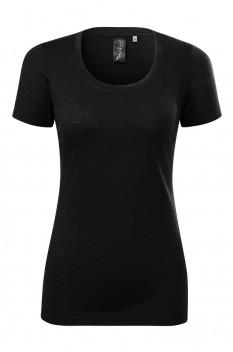 Tricou femei, Malfini Premium Merino Rise, negru