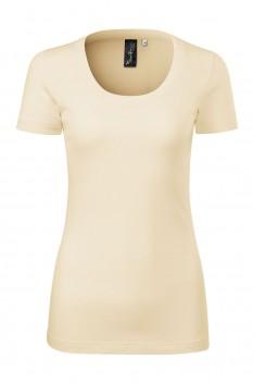 Tricou femei, Malfini Premium Merino Rise, migdala