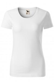 Tricou femei, bumbac organic 100%, Malfini Origin, alb