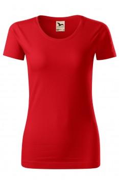 Tricou femei, bumbac organic 100%, Malfini Origin, rosu