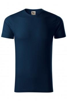 Tricou barbati, bumbac organic 100%, Malfini Native, albastru marin