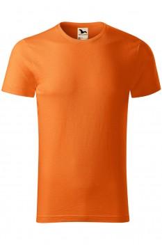 Tricou barbati, bumbac organic 100%, Malfini Native, portocaliu