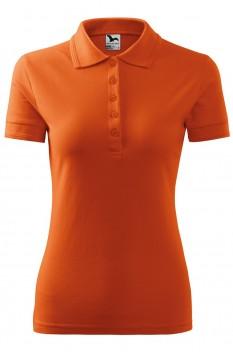 Tricou polo femei Malfini Pique, portocaliu