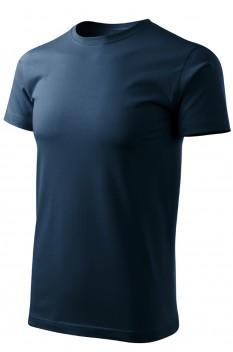 Tricou barbati, bumbac 100%, Malfini Basic Free, albastru marin