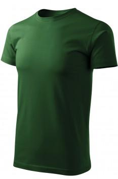 Tricou barbati, bumbac 100%, Malfini Basic Free, verde sticla