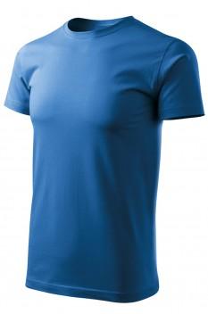 Tricou barbati, bumbac 100%, Malfini Basic Free, albastru azuriu