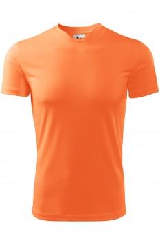 Tricou barbati, poliester 100%, Malfini Fantasy, neon mandarine