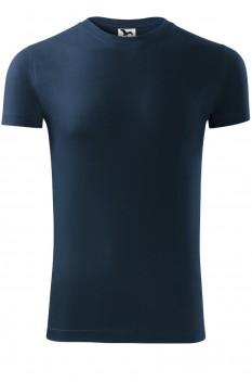 Tricou barbati, bumbac 100%, Malfini Viper, albastru marin