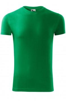 Tricou barbati, bumbac 100%, Malfini Viper, verde mediu