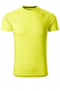 Tricou barbati, Malfini Destiny, galben neon
