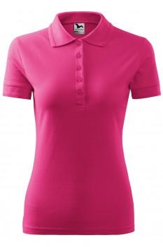Tricou polo pentru femei Malfini Pique, purpuriu