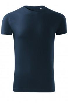 Tricou barbati, bumbac 100%, Malfini Viper Free, albastru marin