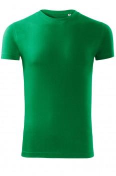 Tricou barbati, bumbac 100%, Malfini Viper Free, verde mediu