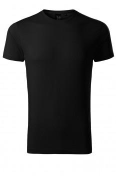 Tricou barbati, bumbac 100%, Malfini Premium Exclusive, negru