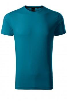 Tricou barbati, bumbac 100%, Malfini Premium Exclusive, albastru petrol