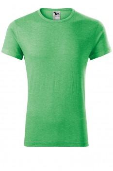 Tricou barbati, Malfini Fusion, verde melanj