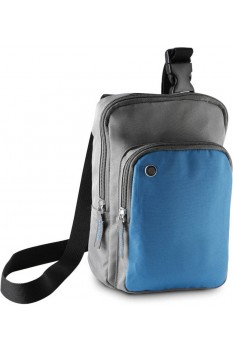 Borseta de umar Kimood ki0301 Slate Grey/Aqua Blue