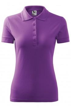 Tricou polo femei Malfini Pique, violet