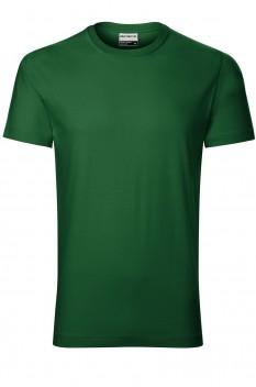 Tricou barbati, bumbac 100%, Rimeck Resist, verde sticla