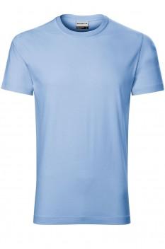 Tricou barbati, bumbac 100%, Rimeck Resist, albastru deschis