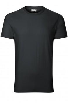 Tricou barbati, bumbac 100%, Rimeck Resist, ebony gray
