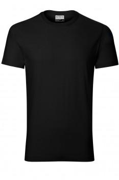 Tricou barbati, bumbac 100%, Rimeck Resist Heavy, negru