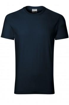 Tricou barbati, bumbac 100%, Rimeck Resist Heavy, albastru marin