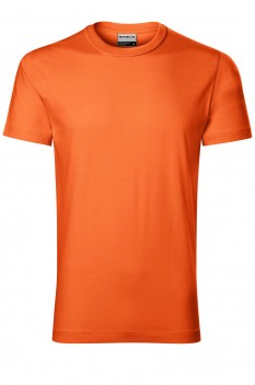 Tricou barbati, bumbac 100%, Rimeck Resist Heavy, portocaliu