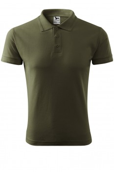Tricou polo barbati Malfini Pique, military