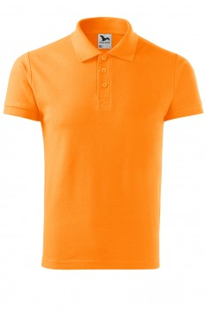 Tricou polo barbati, bumbac 100%, Malfini Cotton, tangerine orange