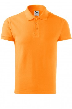 Tricou polo barbati, bumbac 100%, Malfini Cotton Heavy, tangerine orange