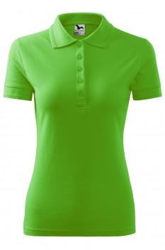 Tricou polo femei Malfini Pique, verde mar
