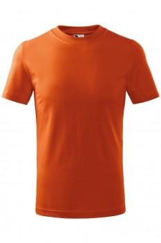 Tricou copii, bumbac 100%, Malfini Basic, portocaliu