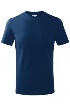 Tricou copii, bumbac 100%, Malfini Basic, midnight blue