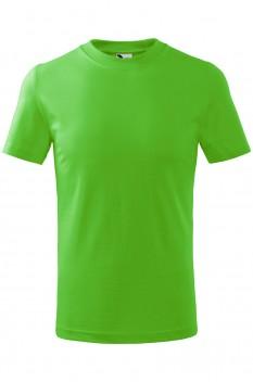 Tricou copii, bumbac 100%, Malfini Basic, verde mar