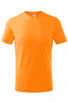 Tricou copii, bumbac 100%, Malfini Basic, tangerine orange