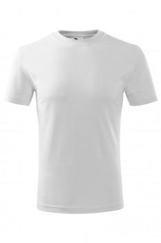 Tricou copii, bumbac 100%, Malfini Classic New, alb
